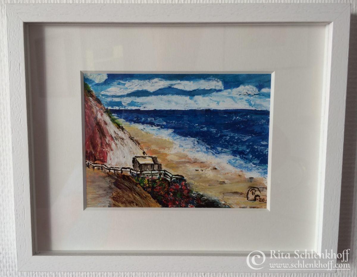 Acryl auf Aquarellpapier Format 32,5 x 26,5 cm