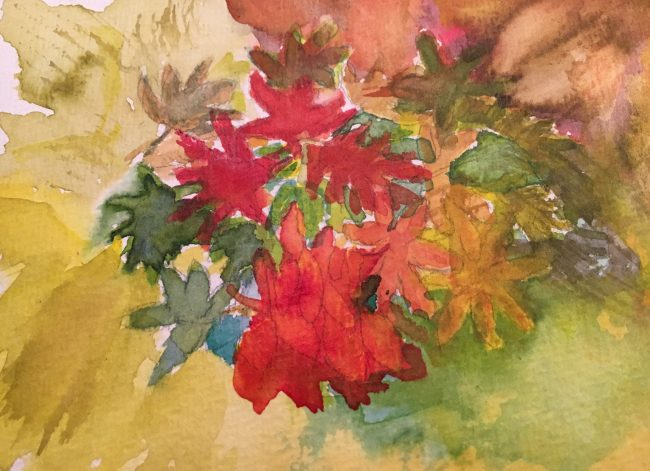 Aquarell Format 24 x 32 cm