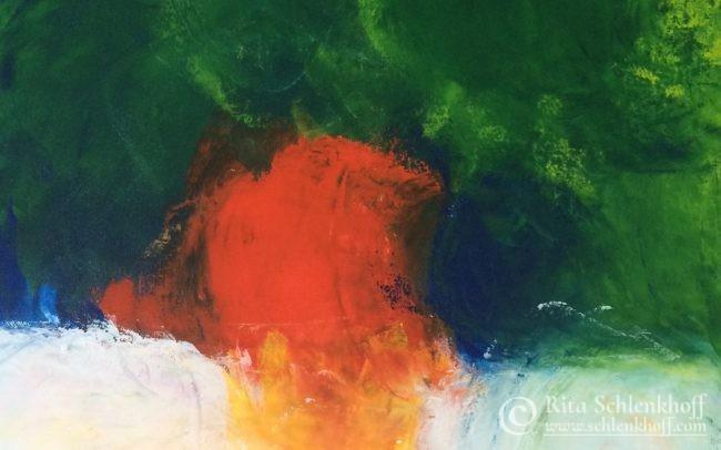 Acryl auf Leinwand - Abstrakte Malerei
