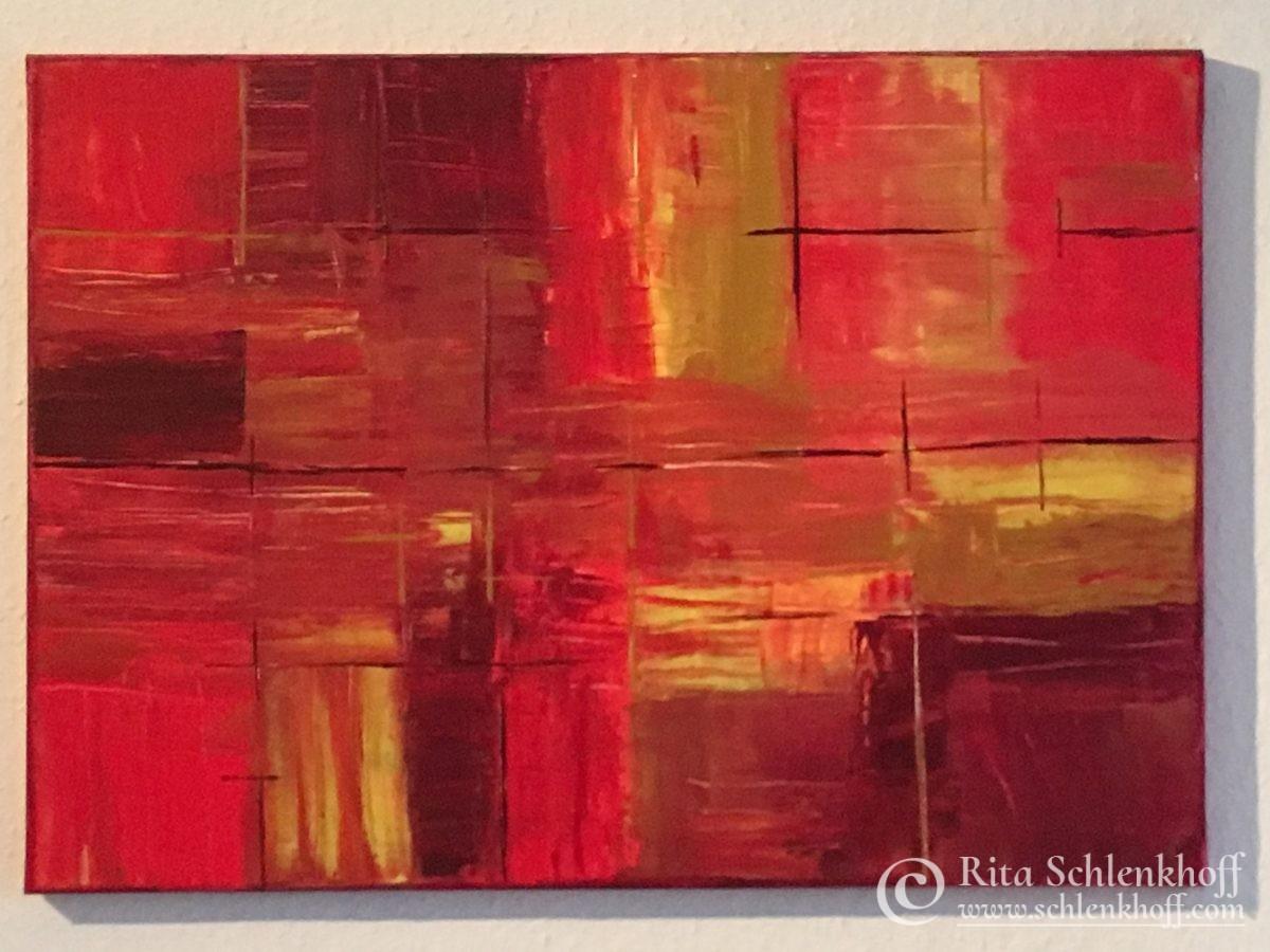 Acryl auf Leinwand, gespachtelt, 60 x 40 cm